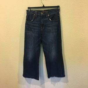 7 For All Mankind wideleg jeans